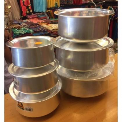 Aluminium Pot 5pcs in 1 Set