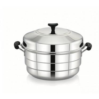 Diamond NX Range Idli & Steamer Multi Pot Induction base with Stainless Steel Lip